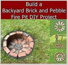 How To Make A Fire Pit With Bricks - fire pit fast and very easy made with regular whole bricks