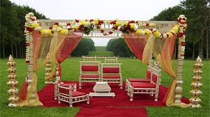 mandap decorations mandap decoration for hindu wedding event planners prasangdecors