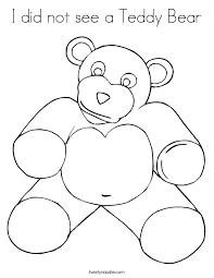 teddy bear coloring twisty noodle