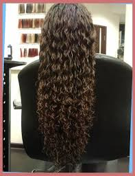 loose spiral perm medium hair loose spiral perm for medium length hair before and after right hs