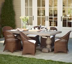 scarlett concrete rectangular dining table u0026 palmetto chair set