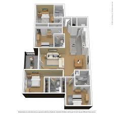 floor plans virtual tours the courtyards cty 4 bedroom 4 bathroom furnished