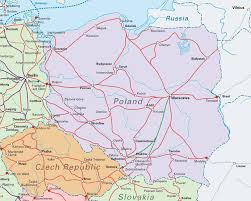 Map Central Europe by Interrail Routes In Central Europe Map Poland U2022 Mappery