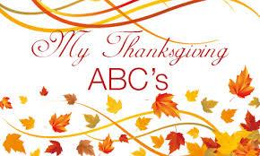my abc s of thanks inwonderland