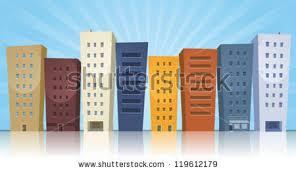 cartoon buildings stock images royalty free images u0026 vectors