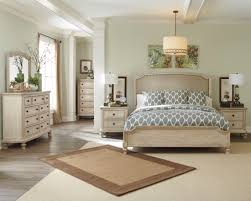 ashley bedroom signature design by ashley demarlos upholstered panel bedroom set