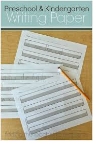 free writing paper for first grade best 25 kindergarten handwriting ideas on pinterest handwriting free printable handwriting paper for preschool or kindergarten the gray area provides a visual cue
