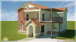Contemporary Home Designs And Floor Plans by 5 Beautiful Modern Contemporary House 3d Renderings Kerala Home
