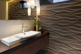 contemporary homes elegant guest bathroom mosaic architects