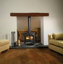 modern wood burning fireplace binhminh decoration