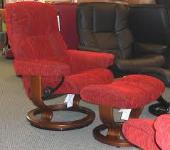 stressless mayfair medium recliner chair ergonomic lounger and
