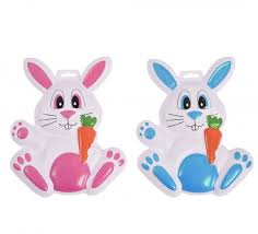 easter bunny decorations plastic easter rabbit decorations
