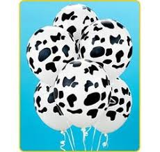 cow print balloons welcome to camocow