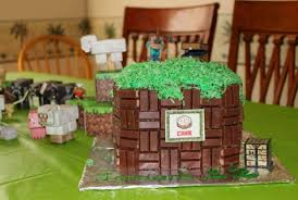 Minecraft Cake Decorating Kit How To Throw A Minecraft Party