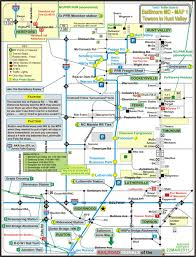 baltimore light rail map texas md railfan guide