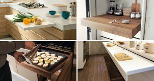 Out Kitchen Designs Kitchen Design Idea Pull Out Counters Contemporist