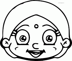 chhota bheem head coloring page wecoloringpage coloring home
