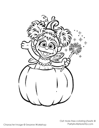 sesame street halloween coloring pages coloring page in elmo page