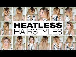 heatless hairstyles 23 outrageously easy 3 minute heatless hairstyles
