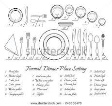 formal dinner table setting new 25 setting a dinner table inspiration design of best known