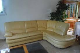 canape jaune cuir canape cuir jaune occasion offres juin clasf