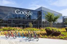 exterior view exterior view of a google headquarters building stock editorial