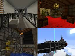 minecraft steampunk airship with schematic by squidempire on