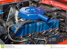 powerstroke mustang 1966 ford mustang 6 cylinder engine 200 royalty free stock photos