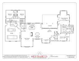classic style ranch floor plan features spacious layout house
