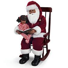 santa and child talking doll set twas the before