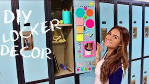 Ideas For Locker Decorations Back To Locker Decorations Diy Locker Decor Youtube