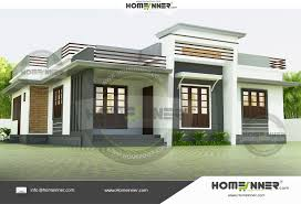 3 Bedroom House Design Https Www Homeinner Com 980 Sq Ft Low Budget Modern 3 Bedroom