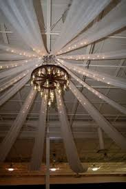 Ceiling Draping For Weddings Diy Wedding Lighting For Ceilings Google Search Taylor U0027s Wedding