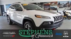 2015 jeep cherokee light bar used 2015 jeep cherokee trailhawk 4x4 for sale greenwich ny