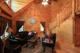 single story log house plans