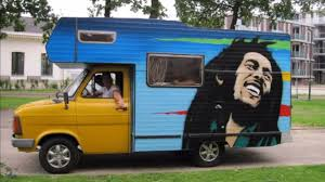 ford transit rv ford transit camper 1985 bob marley painting youtube