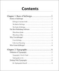 what does table of contents mean how to design a table of contents google search table of