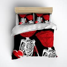 Poppy Bedding Poppy Heads Skeleton Duvet Bedding Sets Ink And Rags