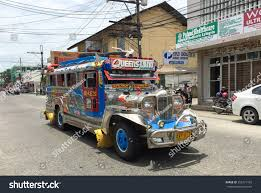 philippine jeepney interior laoag philippines july 25 2015 colorful stock photo 355471763