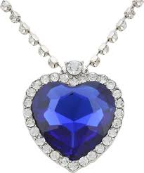 titanic blue heart necklace images Access o risingg titanic heart of the ocean alloy pendant price in jpeg
