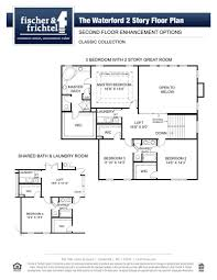 classic floor plans the waterford classic new homes in cottleville mo