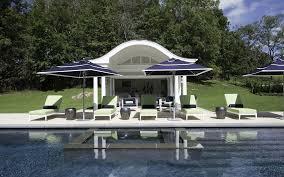 these sumptuous pool houses swim in luxury herd the houlihan