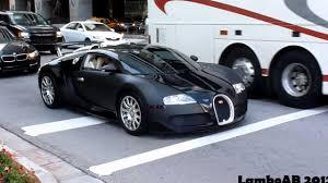 matte black matte black bugatti veyron on the road youtube