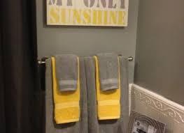 grey and yellow bathroom ideas grey and yellow bathroom decor vozindependiente com