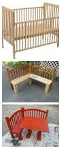 How To Convert A Crib To A Bed by Best 25 Crib Bench Ideas On Pinterest Reuse Cribs Old Cribs
