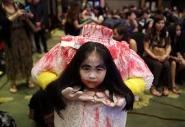 35 most scary and beautiful halloween costumes pictures and photos