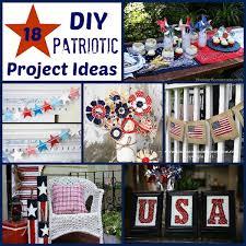 patriotic decorations 18 diy patriotic crafts and decorations hoosier