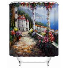 Environmentally Friendly Shower Curtain Environmentally Friendly And Practical European Style Bathroom