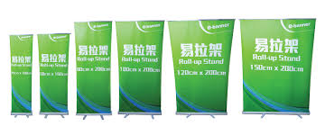 Standing Flag Banners Roll Up Banner E Banner Online Digital Printing Company