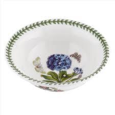 portmeirion botanic garden seconds 20cm deep pasta bowl set of 6
